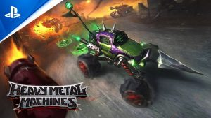 Vehicle combat fighter Heavy Metal Machines launches tomorrow on PS4 and PS5
