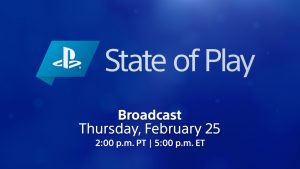 State of Play returns this Thursday, February 25 – PlayStation.Blog